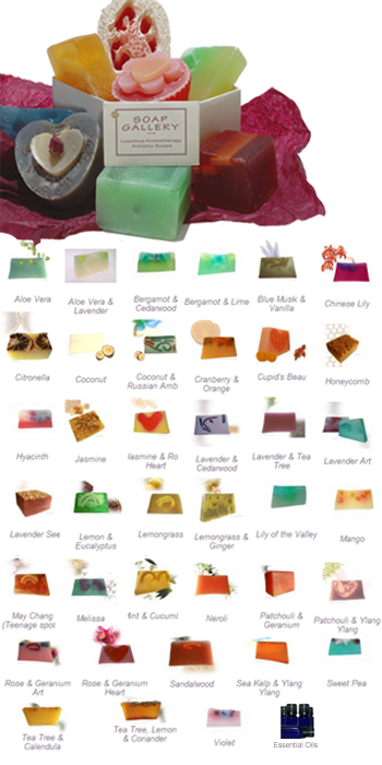 Custom Gift choose 3 soaps